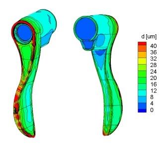 Image of Rack design for electroplating of door handles