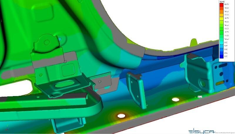 Image of Elsyca EcoatMaster software E-coat simulations for vehicle design