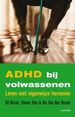 kaft ADHD bij volwassenen: Leven met eigenwijze hersenen