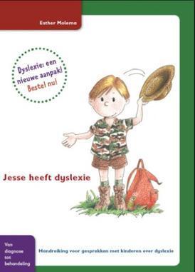 kaft van Jesse heeft dyslexie