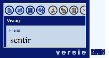 schermafbeelding VOCA