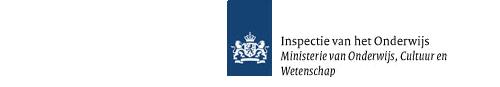 Logo Inspectie van het Onderwijs, Ministerie van Onderwijs, Cultuur en Wetenschap