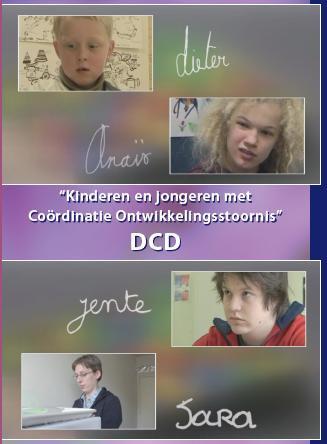 filmhoesje kinderen en jongeren met Coördinatie ontwikkelingsstoornis DCD