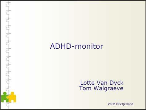 kaft ADHD-Monitor