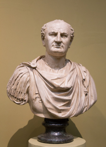 Vespasian, the supreme ruler in the parable of the ten pounds (Luke 19:12-27)