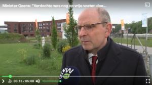 Reactie Minister Geens