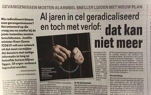 Geens voert strijd tegen radicalisering in gevangenissen op
