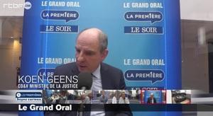 Koen Geens, invité du grand Oral