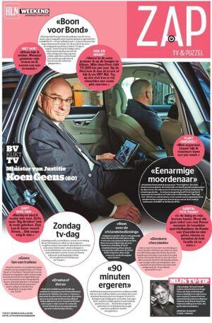 BV kijkt tv - Minister van Justitie Koen Geens