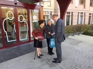 Minister Geens bezoekt Minder Mobielen Centrale