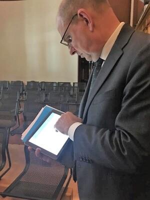 Justitie wordt steeds digitaler: Leuven geeft het goede voorbeeld