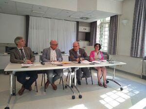 Plechtige opening van de unit GOLF op de campus van UPC Sint-Kamillus in Bierbeek