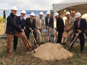 """Werken aan nieuw politiehuis officieel begonnen: """"Sober en efficiënt gebouw"""""""