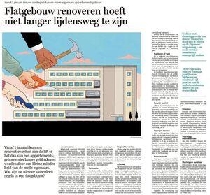 Flatgebouw renoveren hoeft niet langer lijdensweg te zijn