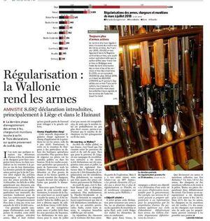 Régularisation : la Wallonie rend les armes