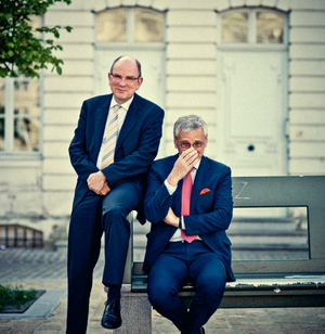 Dubbelinterview in Trends met Kris Peeters en Koen Geens