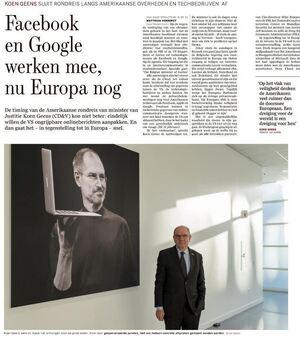 Facebook en Google werken mee, nu Europa nog