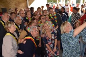 Opening nieuwe school Sint-Agatha-Rode in aanwezigheid van Ministers Crevits en Geens