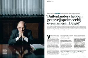 'Buitenlanders hebben geen vrij spel meer bij overnames in België'