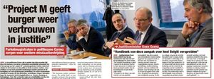 Primeur in België: 500 dossiers van lokale criminaliteit direct behandeld door 'Project M'