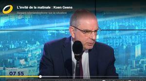 """Koen Geens, masques et coronavirus en Belgique : """"On a fait de notre mieux. On a hésité au début, on n"""