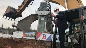 Premier coup de pelle pour le nouveau palais de justice de Namur