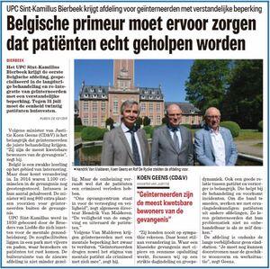 Belgische primeur moet ervoor zorgen dat patiënten echt geholpen worden
