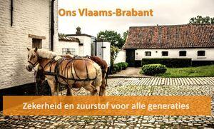 """""""CD&V gaat voor een Vlaams-Brabant met zekerheid en zuurstof voor generaties."""""""