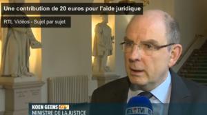 Une contribution de 20 euros pour l'aide juridique