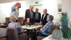 Minister Geens bezoekt De Wingerd op Wereld Alzheimerdag