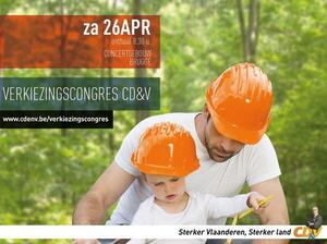 Verkiezingscongres CD&V 26 april in Brugge