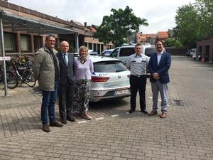 Minister van Justitie Koen Geens bezoekt controleactie Kansspelcommissie in Politiezone Getevallei
