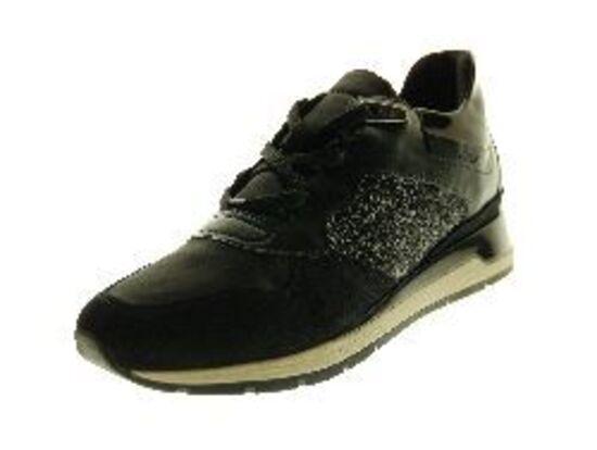 Geox - Sneaker - Leder - Zwart