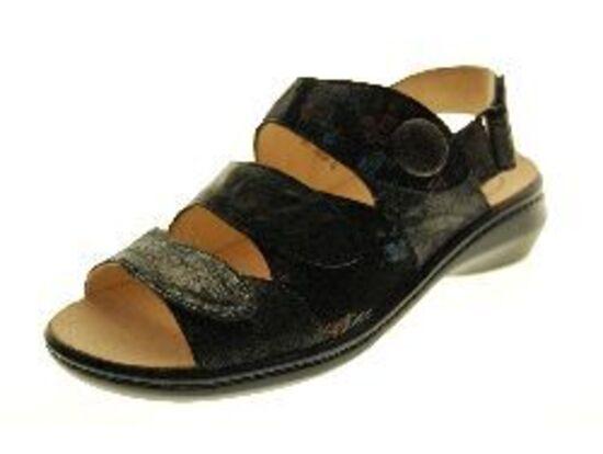 Think - Sandaal - Leder - Zwart