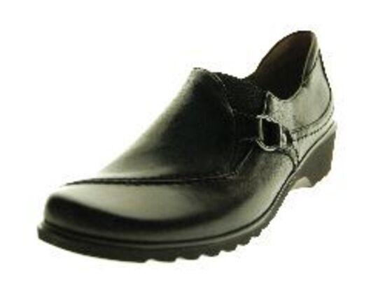 Ara - Mocassin - Leder - Zwart
