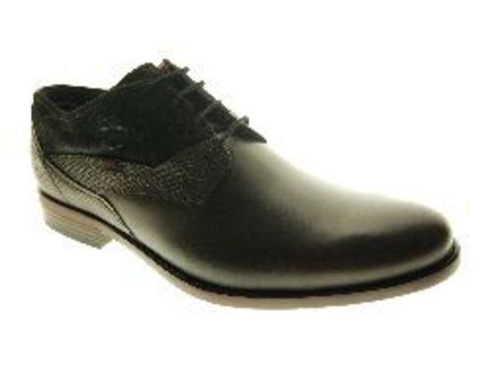 Bugatti - Schoen - Leder - Zwart