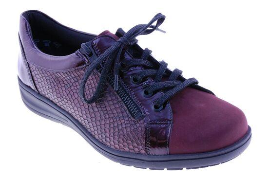 Solidus - Sneaker - Leder - Bordeaux