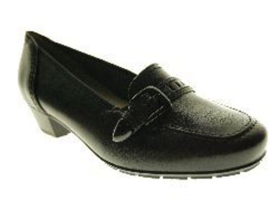Ara - Slip On - Leder - Zwart