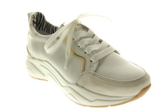 Softwaves - Sneaker - Leder - Wit