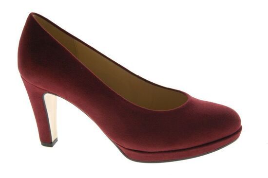 Gabor - Pump - Nubuck - Bordeaux