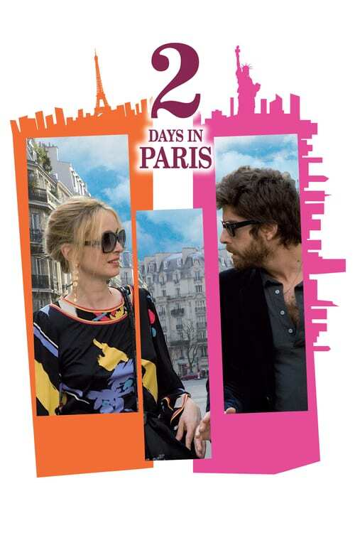 movie cover - 2 Days In Paris