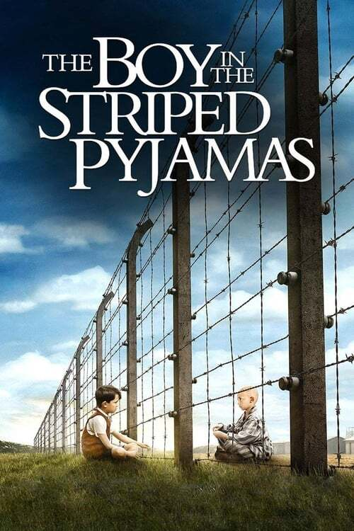 movie cover - The Boy In The Striped Pyjamas