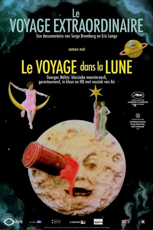 movie cover - The Extraordinary Voyage / A Trip To the Moon