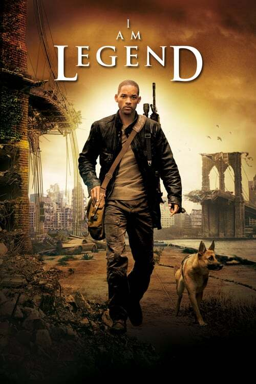 movie cover - I Am Legend