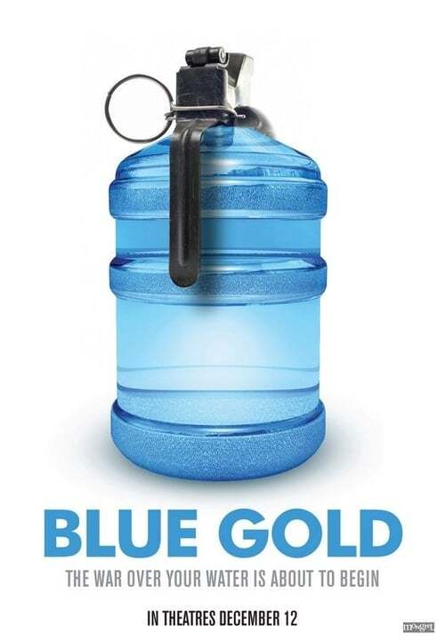 movie cover - Blue Gold: World Water Wars