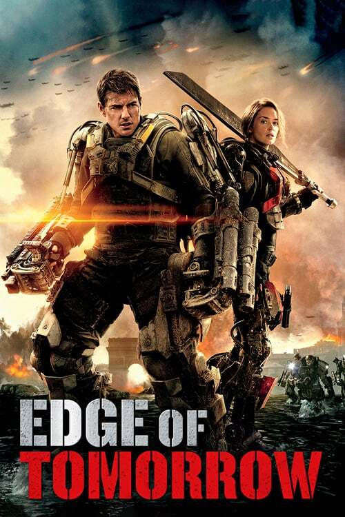 movie cover - Edge Of Tomorrow