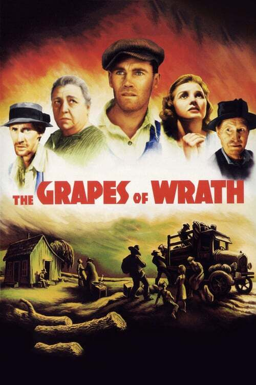movie cover - The Grapes Of Wrath
