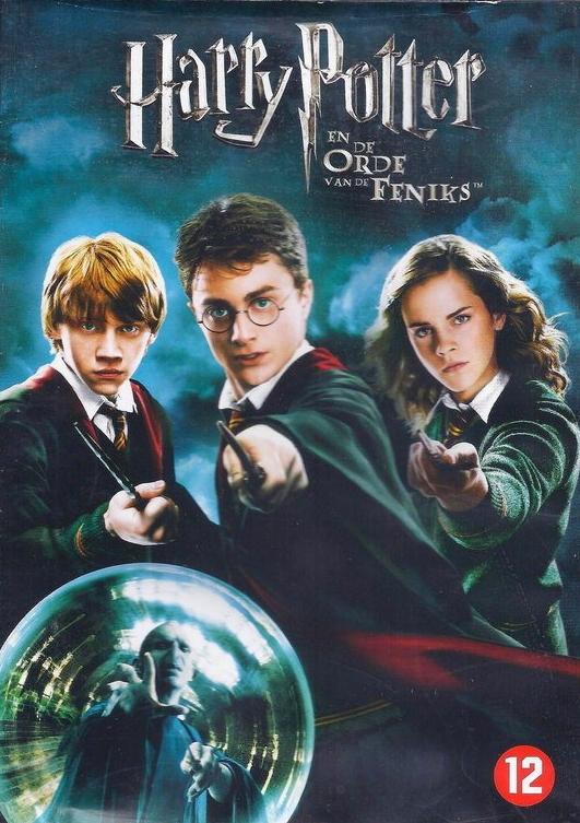 movie cover - Harry Potter en de Orde van de Feniks