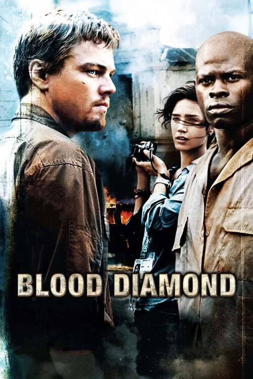 movie cover - Blood Diamond