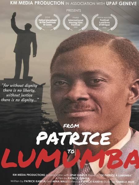 movie cover - De Patrice à Lumumba